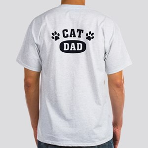 Cat Dad [b/w] Light T-Shirt